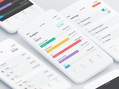 Personal Finance App Design Mockup