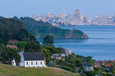 Choosing a cheap-ass wedding venue for under $1,000 in Northern California…Old St. Hilary's in Tiburon