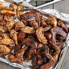 Spicy Ranch Grilled Chicken Wings