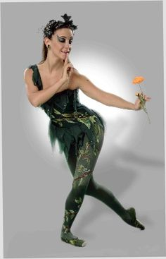 Dance Prism/Columbia City Ballet's Miranda Bailey in Puck costume by Much Ado About A Tutu www.muchadotutus.com