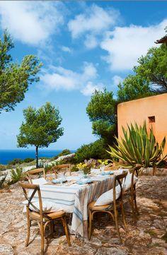 Mediterranean outdoor living