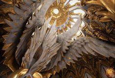 THRONE ROOM – Winged Throne – ACeye & Desmera - Polycount Forum