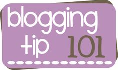 Blogging Tips - a linky party with 30 different blogging tips!