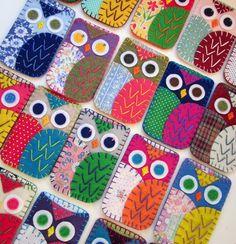 Owl Phone Cozy Designs!