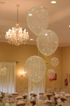 Globos decoración bodas