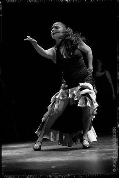 "Sonia Cortes, in ""Tierra Flamenca"" by Stéphane Barbier, photographer"