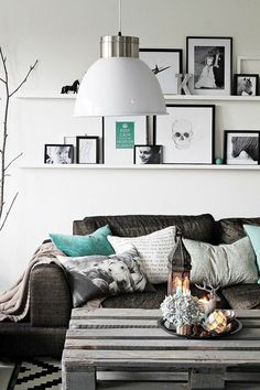 Décor do dia: sala de estar despojada