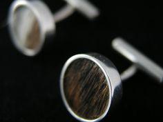 Wood Cufflins