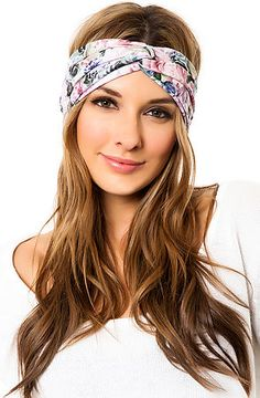 The Dead Flowers Turban in Pink by See You Monday