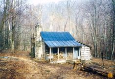 Corbin Cabin: rustic restored backwoods home located on the banks of the Hughes River at the bottom of Nicholoson Hollow in the central section of Shenandoah National Park