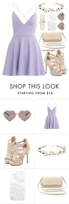 """""""Beauty Is In The Eye Of The Beholder"""" by avonsblessing94 ❤ liked on Polyvore featuring Wildfox, AX Paris, Cult Gaia, Monika Strigel and Charlotte Russe"""