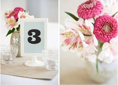 DIY: Graphic Table Numbers | Project Wedding