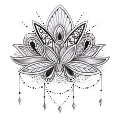 Mandala Lotus Flower