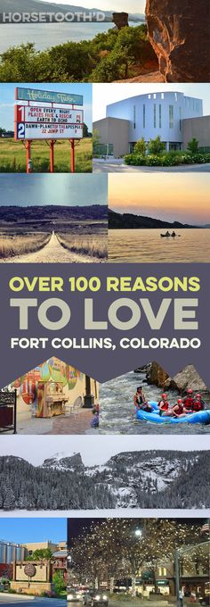 Over 100 Reasons to Love Fort Collins Colorado Denver Colorado, Loveland Colorado, Road Trip To Colorado, Moving To Colorado, Colorado Homes, Windsor Colorado, Colorado Springs, Visit Colorado, Pikes Peak