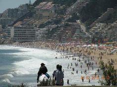 Renaca: PLAYA DE REÑACA - Vina Del Mar - Chile