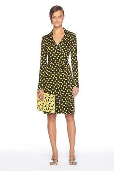 DVF New Jeanne Dress.....Can't wait til I can afford the legendary DVF Wrap Dress!