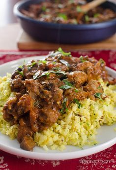 Slimming Eats Chicken and Eggplant Curry - Gluten Free, Dairy Free, Slimming World, Weight Watchers, Paleo and Whole30 friendly