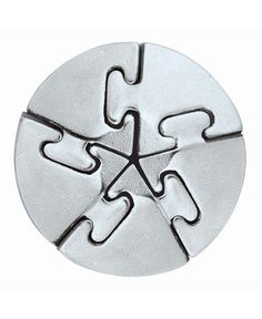 Metal Puzzle Brainteaser Explore and Think Toys Cast Metal Brain Teaser Puzzle Stress Relief Toys