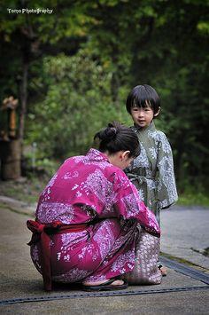 YUKATA by *WindyLife on deviantART  #japan