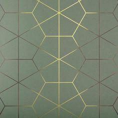 Exposition Wallcovering in Jade - Art Deco Wallpapers - Dering Hall Motif Art Deco, Art Deco Era, Art Deco Tiles, Tapetes Art Deco, Home Decor Accessories, Decorative Accessories, Photo Web, Wall Panel Design, Art Deco Wallpaper