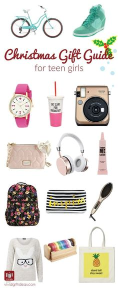 Christmas gifts for teens. 17 Awesome stuff in every teen girl's wishlist.