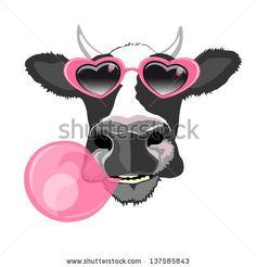 Cute Cow Cartoon N° de la photo d'archives: 147982118 : Shutterstock