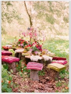 What a lovely idea for a tea party or fairy fairy party