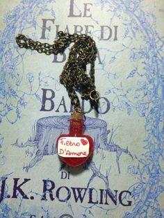 """<3 Necklace potion """" Filtro d'amore"""" <3 7€"""