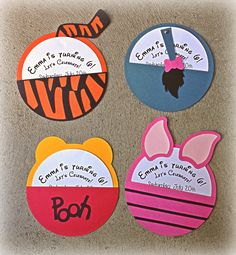 Check out our winnie the pooh birthday invitations selection for the very best in unique or custom, handmade pieces from our shops. Winnie The Pooh Themes, Winnie The Pooh Birthday, Bear Birthday, 2nd Birthday, Homemade Birthday Invitations, First Birthday Parties, First Birthdays, Pooh Baby, Disney Diy