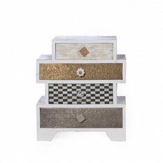 Messing, Decorative Boxes, Home Decor, Set Of Drawers, Nice Asses, Decoration Home, Room Decor, Home Interior Design, Decorative Storage Boxes