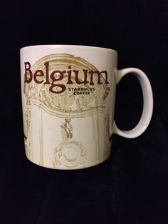 Starbucks Belgium Mug Manneken Pis Belgian België Belgique Boy Icon New USA Ship #Starbucks