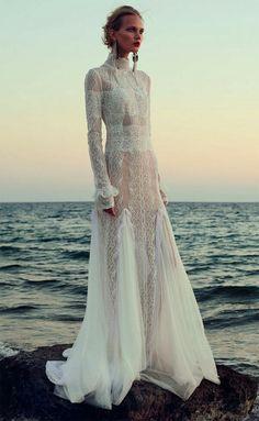 head to toe lace - wedding dress