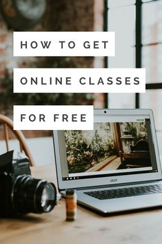 Free online classes for creative entrepreneurs! Learn photography, marketing, crafting, writing,  creating music online.