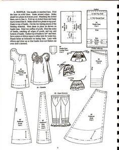 Dollhouse dolls' clothing