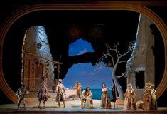 Paisiello's L'Osteria di Marechiaro from Teatro di San Carlo Napoli. Production by Roberto De Simone. Sets by Nicola Rubertelli.