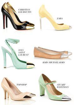 cap toe shoes!!!! :)