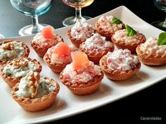 Canapes, I Love Food, No Bake Cake, Potato Salad, Catering, Picnic, Sandwiches, Muffin, Food And Drink
