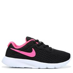 best website 71301 04bc5 Nike Kids  Tanjun Running Shoe Preschool Shoes (Black Pink) Nike Kinder,