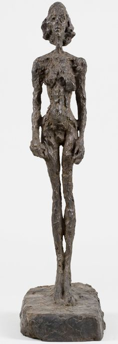By Alberto Giacometti, 1 9 5 4,  Annette from Life.