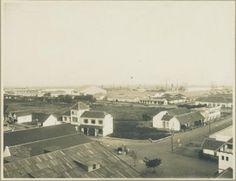 Westelijk deel van het haventerrein te Soerabaja (Pelabuhan Tanjung Perak sisi barat) 1922