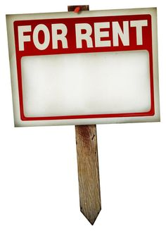 For Rent Sign 1