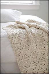 Umaro knit throw. Great texture, knitted using super bulky yarn.