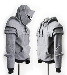 knight pumpkin | Spicytec: Awesome Knight Armor Hoodies