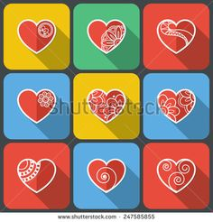 http://www.shutterstock.com/ru/pic-247585855/stock-vector-set-of-flat-heart-icons-on-random-background-with-long-shadow.html?rid=1558271