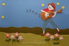Pai Francisco entrou na roda, tocando seu violão... by Ei menina! - Erica Catarina, via Flickr