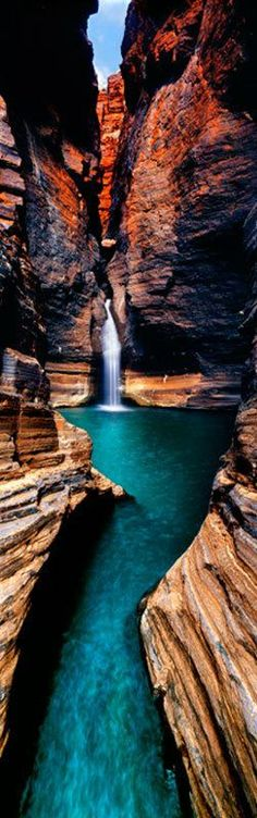 Emerald Waters at Karijini National Park in Western Australia • Photo: Ken Duncan.