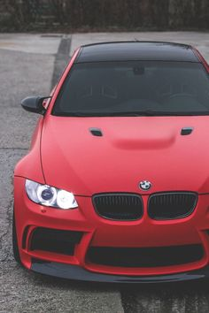 BMW only car in matte red that looks sick Maserati, Ferrari, Rolls Royce, Bmw X5 F15, Dream Cars, 3 Bmw, Bmw Autos, Bmw Love, Bmw Cars