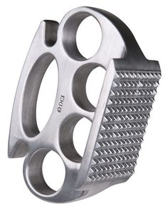 Brass Knuckle Meat tenderizer  @gabrielle Yee
