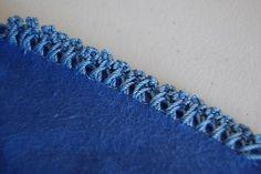Crochet Cami: Cross Over Stitch Crochet Edging Tutorial ༺✿ƬⱤღ http://www.pinterest.com/teretegui/✿༻