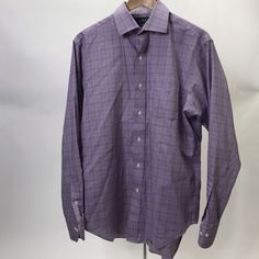 RALPH LAUREN Men's Classic Fit Non Iron Button-Down Shirt Size 15 1/2 34/35  | eBay